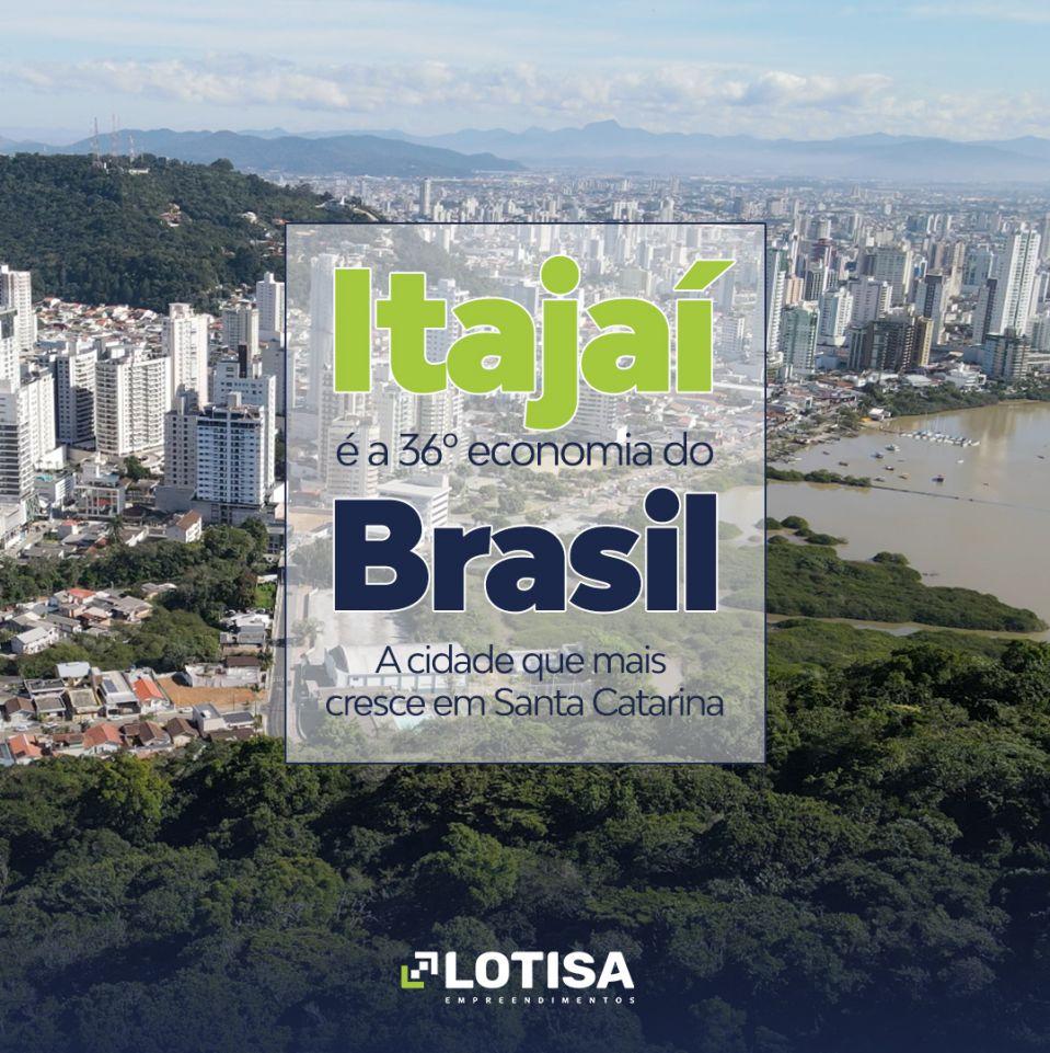 Itajaí é a 36ª economia do Brasil e a cidade que mais cresce em Santa Catarina