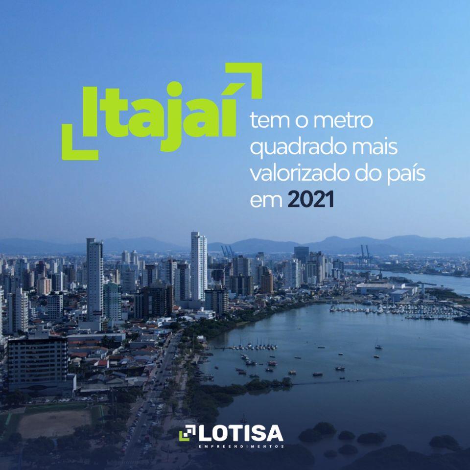 Itajaí tem se valorizado no mercado imobiliário.